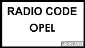 Philips Opel Radio Code