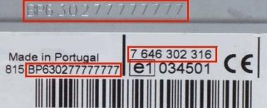 BP9072 Blaupunkt Peugeot IDC A04 CD-Changer - 7 607 769 072 - 7607769072