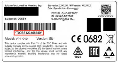 Unlock Auto Radio Code Fiat Harman Uconnect 6.5 RA3 - VP4