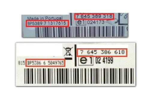 Unlock Auto Radio Code Blaupunkt BP9480 Nissan  MOD C 7 649 480 018