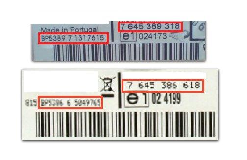 Unlock Auto Radio Code Blaupunkt BP5385 NISSAN MMR 1CD 7 645 385 618
