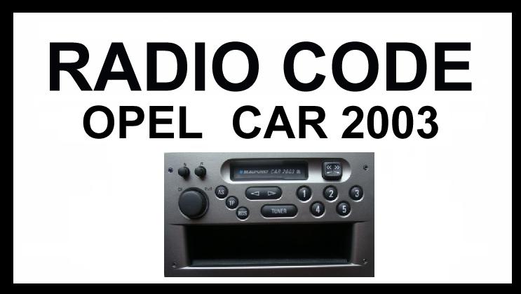 radio code | radio code geeignet für opel von philips oder grundig